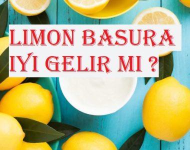 Limon basura iyi gelir mi